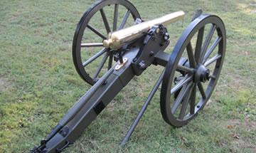 Civil War Cannon Parts